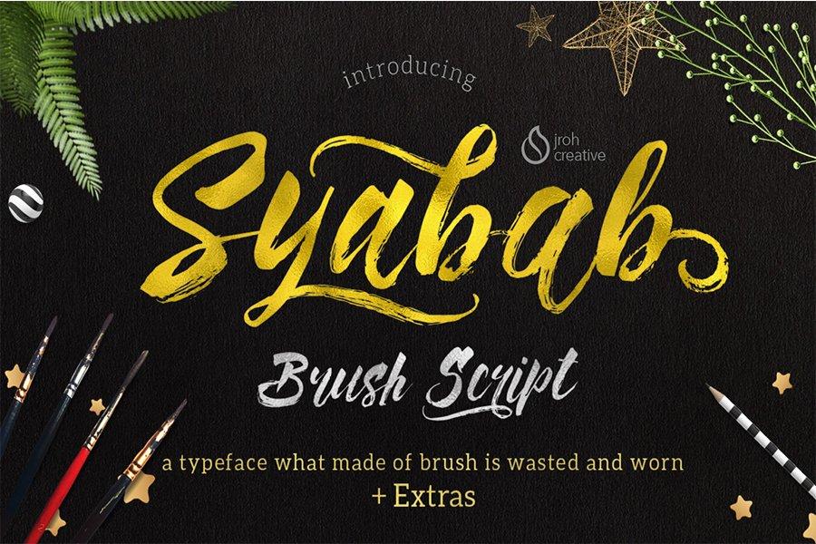 01_Syabab_Brush_Script