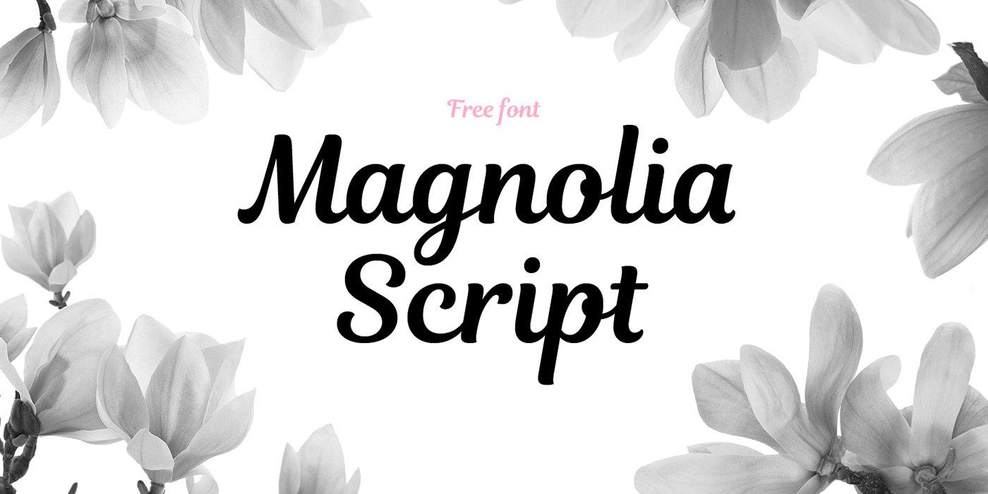 Magnolia-Script-Free-Font-prev01
