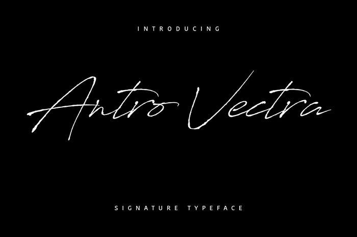 antro-vectra-font