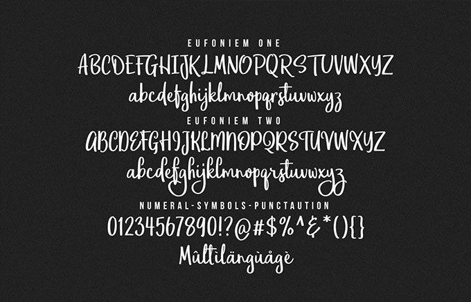 eufoniem-script-font-4